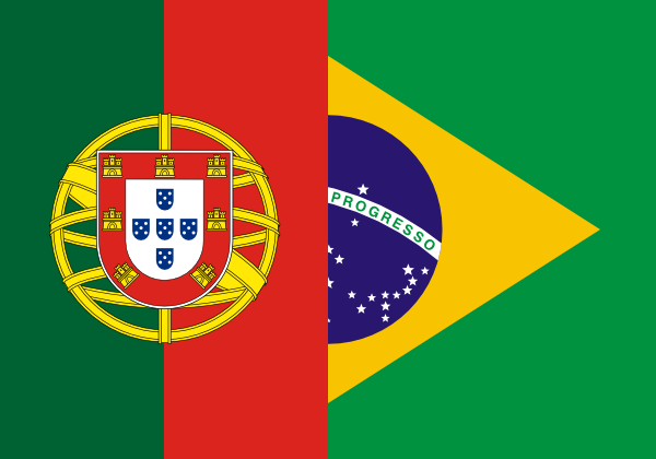european portuguese and brazilian portuguese